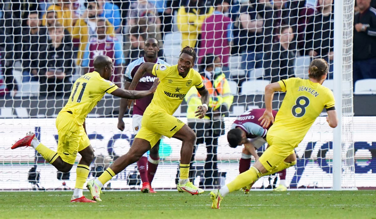 Yoane Wissa scores last-gasp winner as Brentford stun West Ham at London Stadium