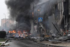 Plane crashes into office building in Milan, killing all eight onboard