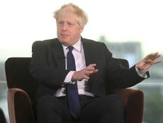 Boris Johnson 'to urge workers to get back to the office' in Tory conference speech