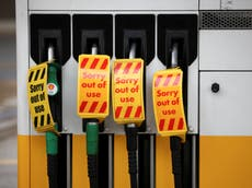 Has the government done enough to end fuel shortages and fill gaps on supermarket shelves?