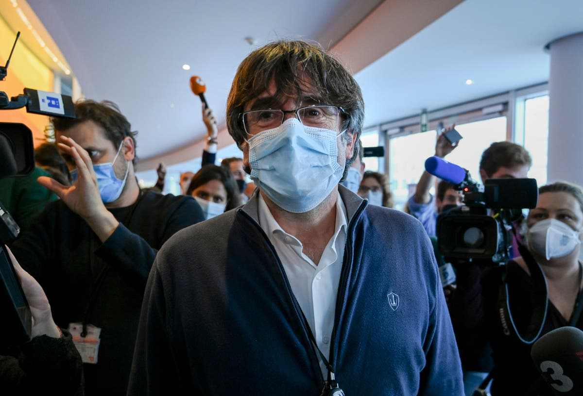Ex Catalan leader in  Italian court for extradition hearing