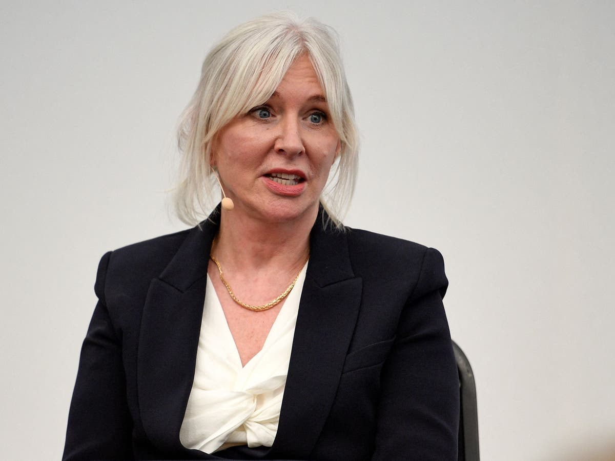 Nadine Dorries threatens social media giants with 'financial hammer blow'