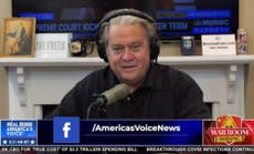 Steve Bannon pledges 20k 'shock troops' as he rants that 'we control this country'