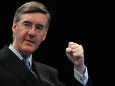 Letters: Jacob Rees-Mogg's mask comments are an affront to us all