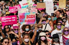 White House vows to wage war to protect Roe v Wade after win in Texas