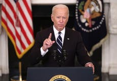 Biden vaccine mandate for private business is nearly set, Wit Huis sê