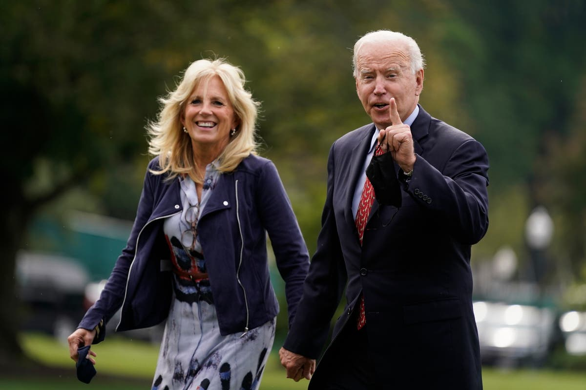 Biden eager to get out of DC, push benefits of spending plan