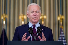 Biden tells GOP to 'get out of the way' on debt limit