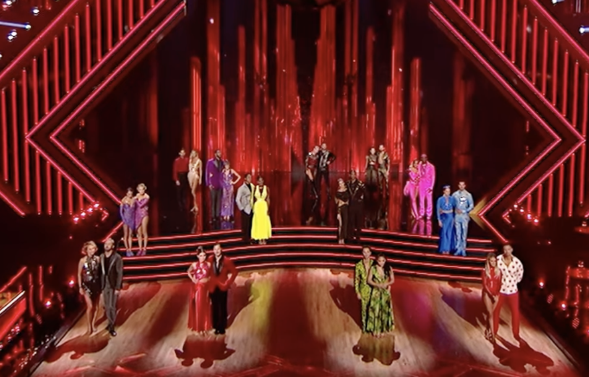 Who left Dancing with the Stars on Monday night?