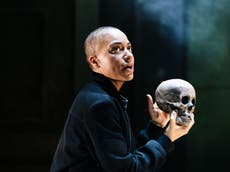 Hamlet review, Young Vic: Cush Jumbo is let down by a curiously muddled production