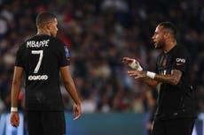 Kylian Mbappe reveals details of bench outburst about 'bum' Neymar