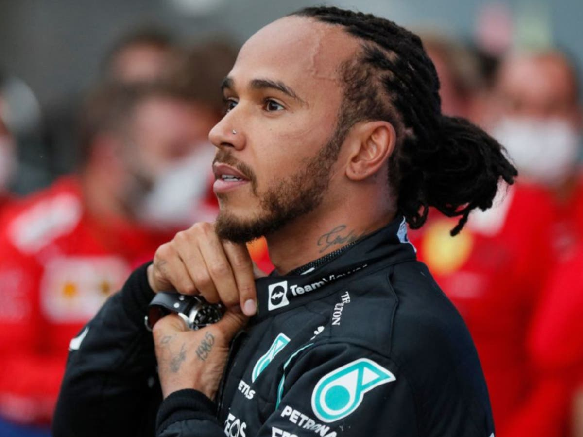 Lewis Hamilton launches scheme to boost number of black teachers in STEM subjects