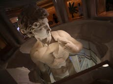 Only VIPs can see genitals of Michelangelo's David at Dubai Expo