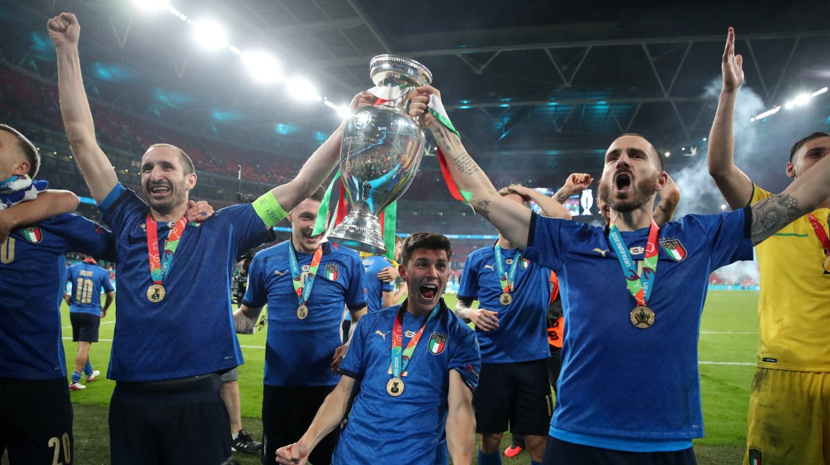 European champions Italy on the hunt for more silverware in Nations League