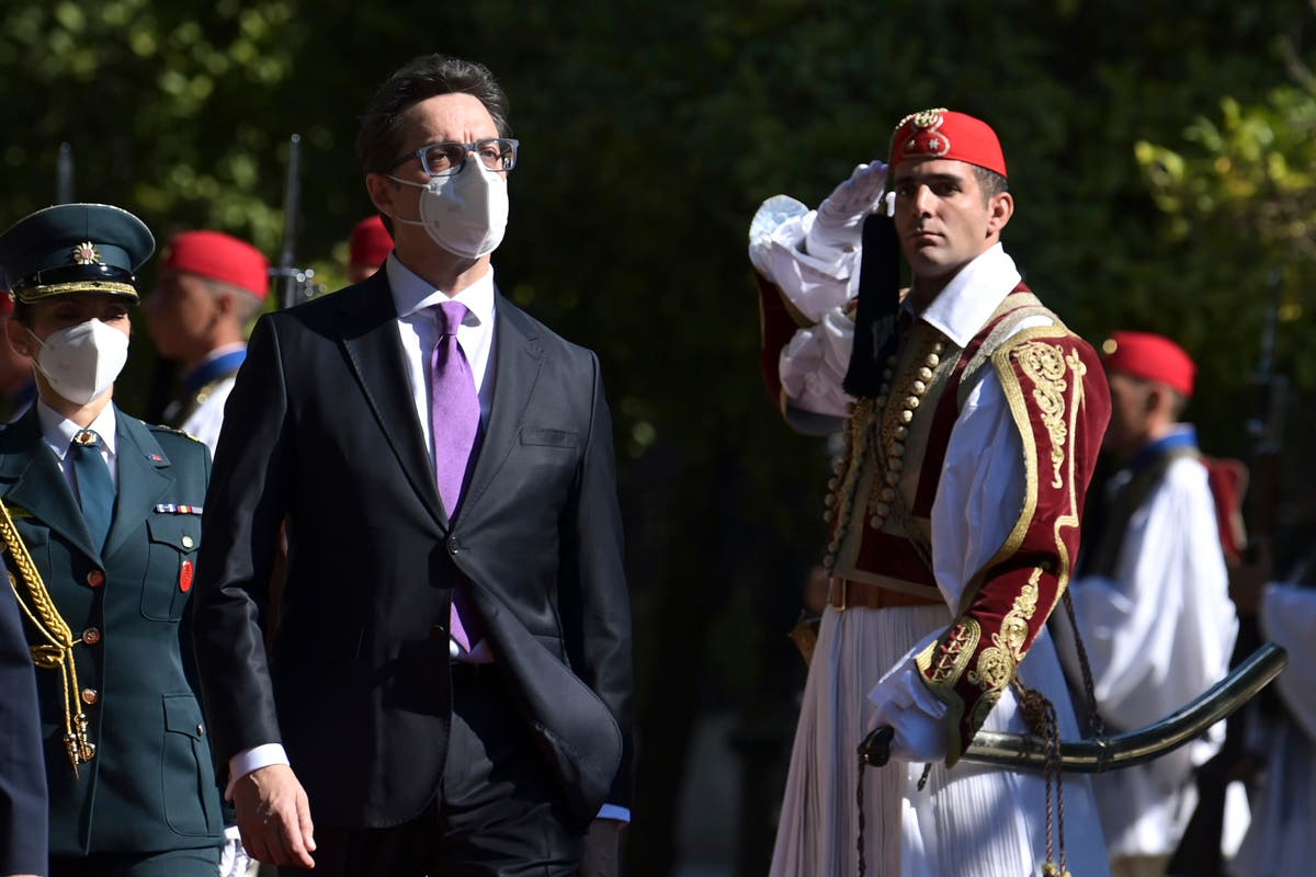 N Macedonia president pays first state visit to Greece