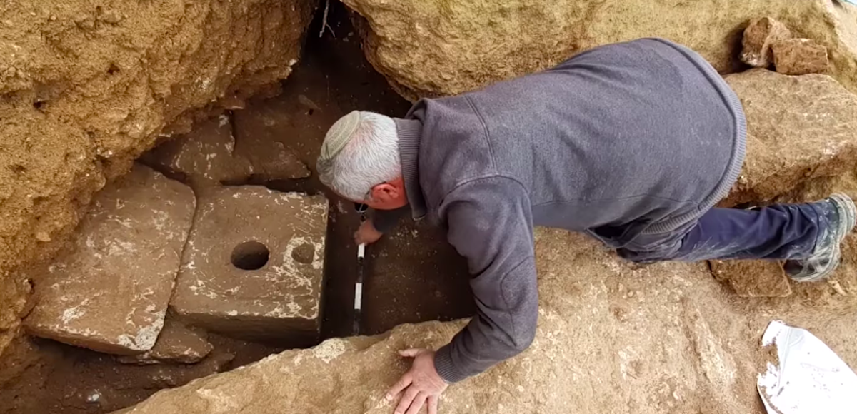 2,700-year-old luxury toilet unearthed in Israel