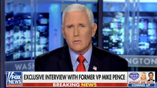 Pence blames media for focusing on deadly Capitol riot and ignoring Biden 'weakness'