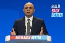 Sajid Javid says people should turn to family before NHS