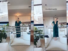 TikTok viewers say bridesmaid 'upstaged' bride by altering her dress in viral video