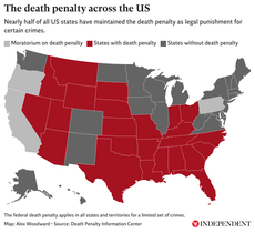 America's death map: Which US states still have capital punishment, and who uses it the most?