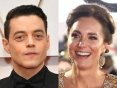 Rami Malek says Kate Middleton was 'taken aback' by his question about her family