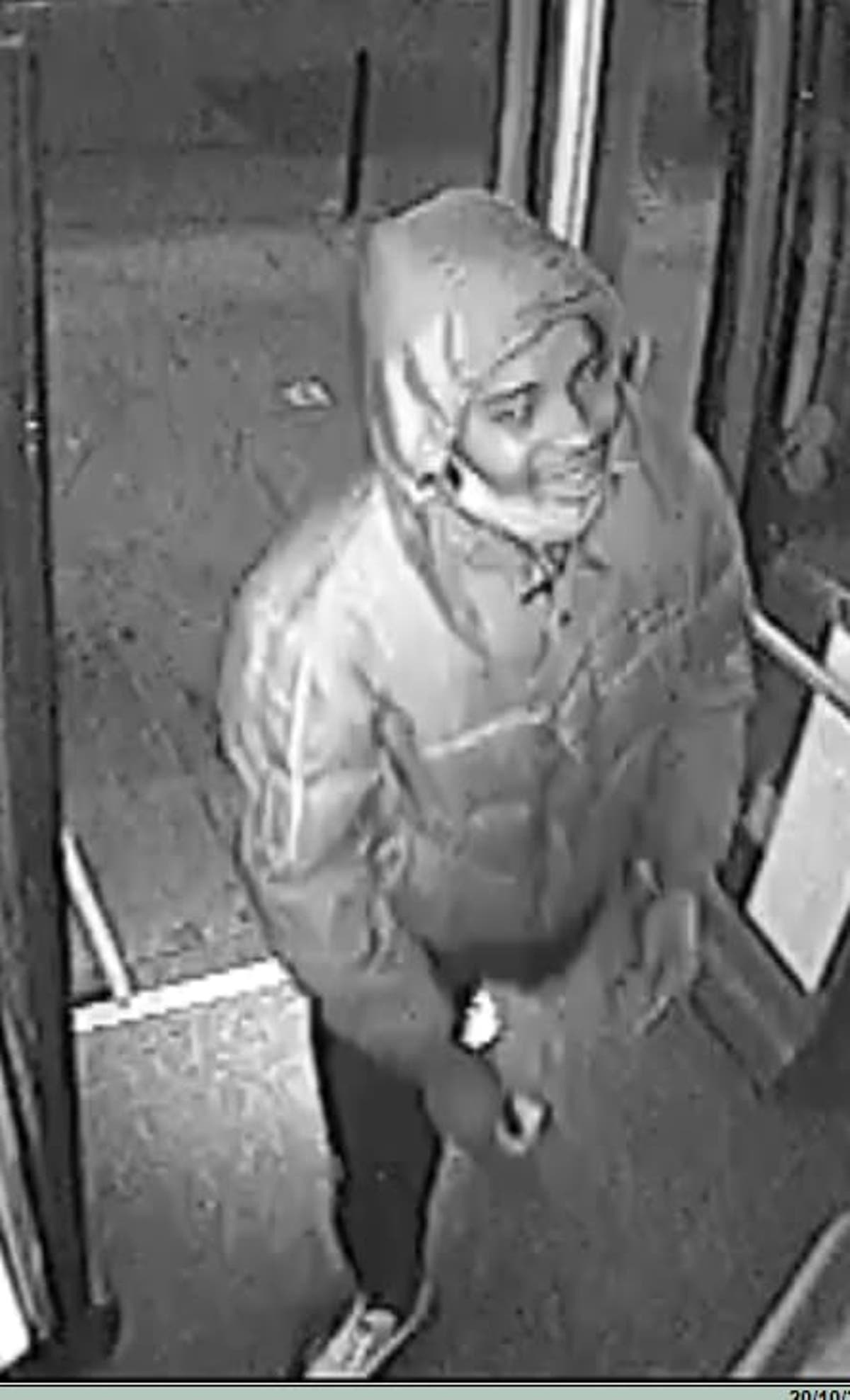 CCTV released in hunt for rapist who attacked woman in London alley