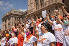 Judge orders Texas to suspend new law banning most abortions