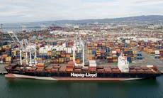Ship anchored near oil pipeline made unusual movements
