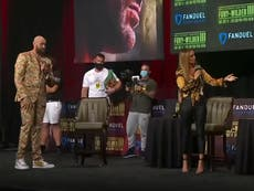 Bob Arum apologises for outburst at Kate Abdo over Fury vs Wilder face-off