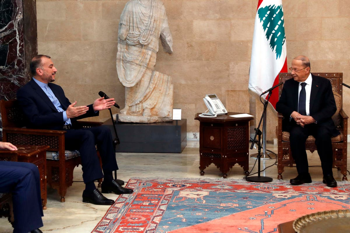 Iranian FM in Beirut discusses 'positive' Iran-Saudi talks