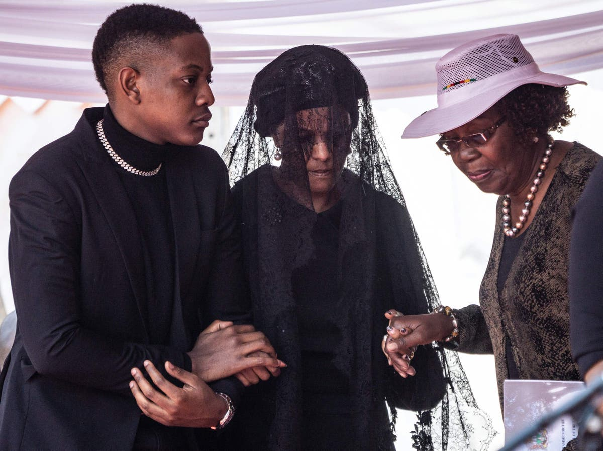 Grace Mugabe challenges fine of five cows and two goats for dictator husband's burial