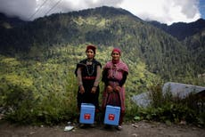 The doctors trekking the Himalayas to vaccinate its remote villages