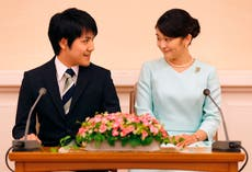 Who is Princess Mako's fiancé Kei Komuro and how did they meet?
