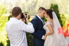 Photographer deletes couple's wedding photos after being denied break to eat and drink