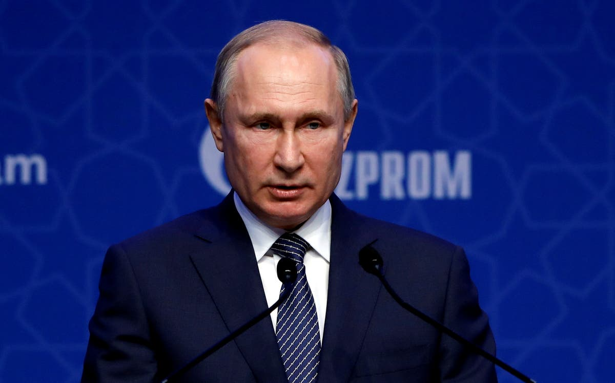 Putin says he hopes US and Russia will gradually restore relations