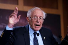 Bernie Sanders refuses to sign statement supporting Kyrsten Sinema after protest
