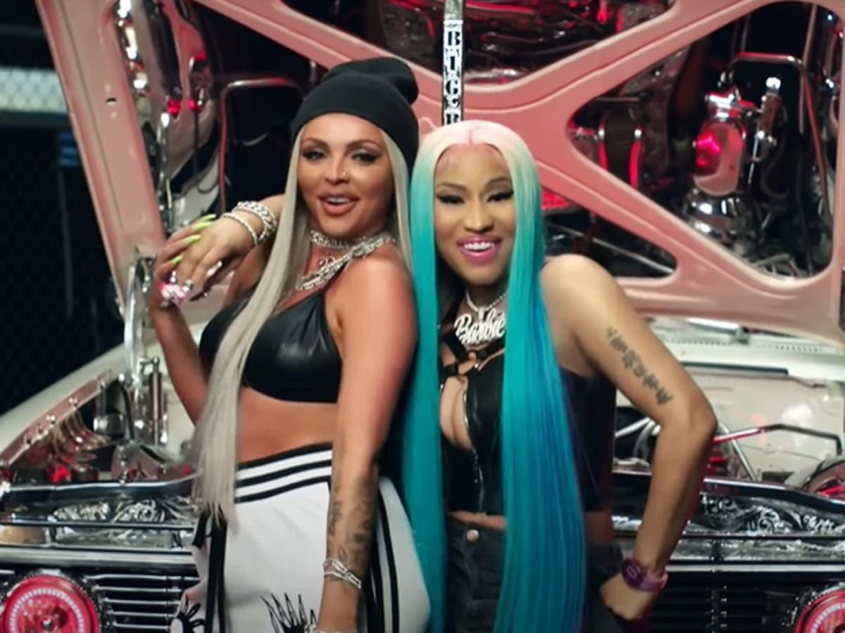Jesy Nelson's new single with Nicki Minaj met with mixed reactions