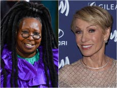 Barbara Corcoran apologises to Whoopi Goldberg for on-air joke about her weight