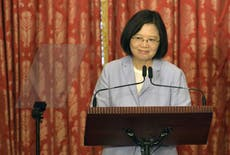 Taiwan 'will do whatever it takes to defend freedom', says president