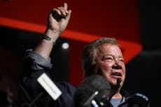 William Shatner admits that he's 'terrified' to go into space