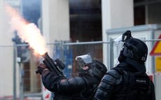 Slovenia denies excessive police force against protesters