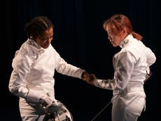 Athena review, Yard Theatre: A witty, enthralling fencing comedy