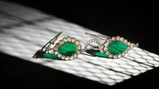 Emerald and diamond glasses from Mughal-era India to be auctioned by Sotheby's
