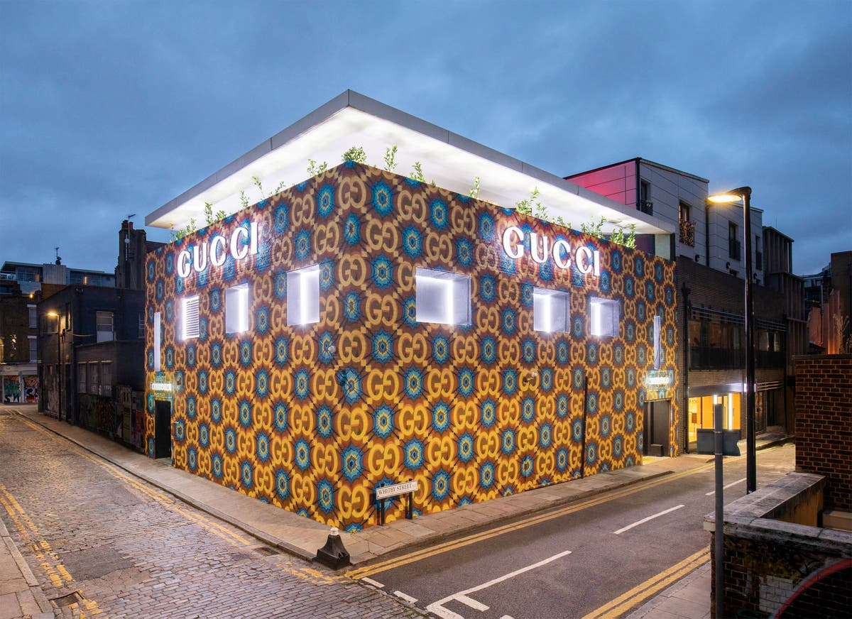 Gucci celebrates 100th birthday with pop-up café in Shoreditch