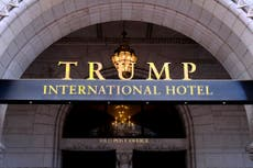 Trump hotel lost $70M during presidency, got help from bank