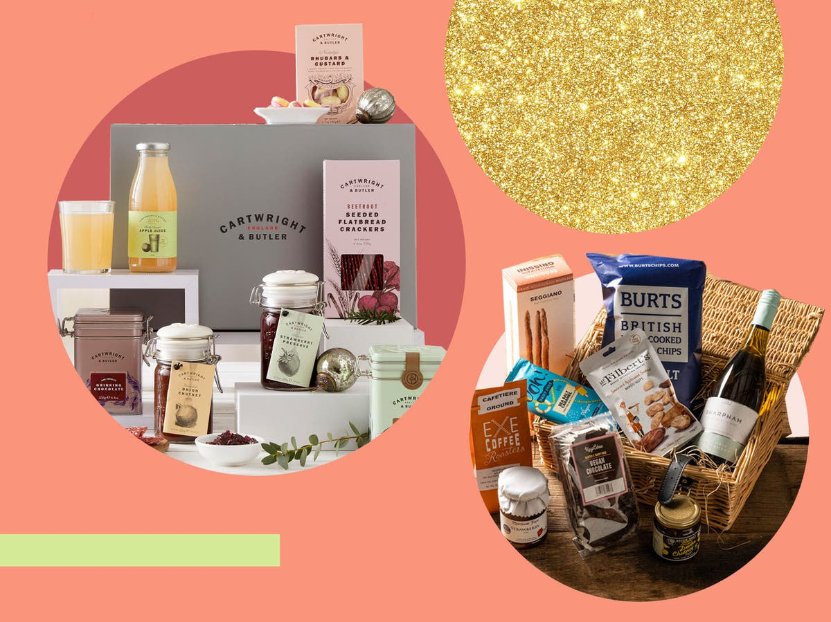 Spoil the vegan in your life this Christmas with these festive plant-based hampers