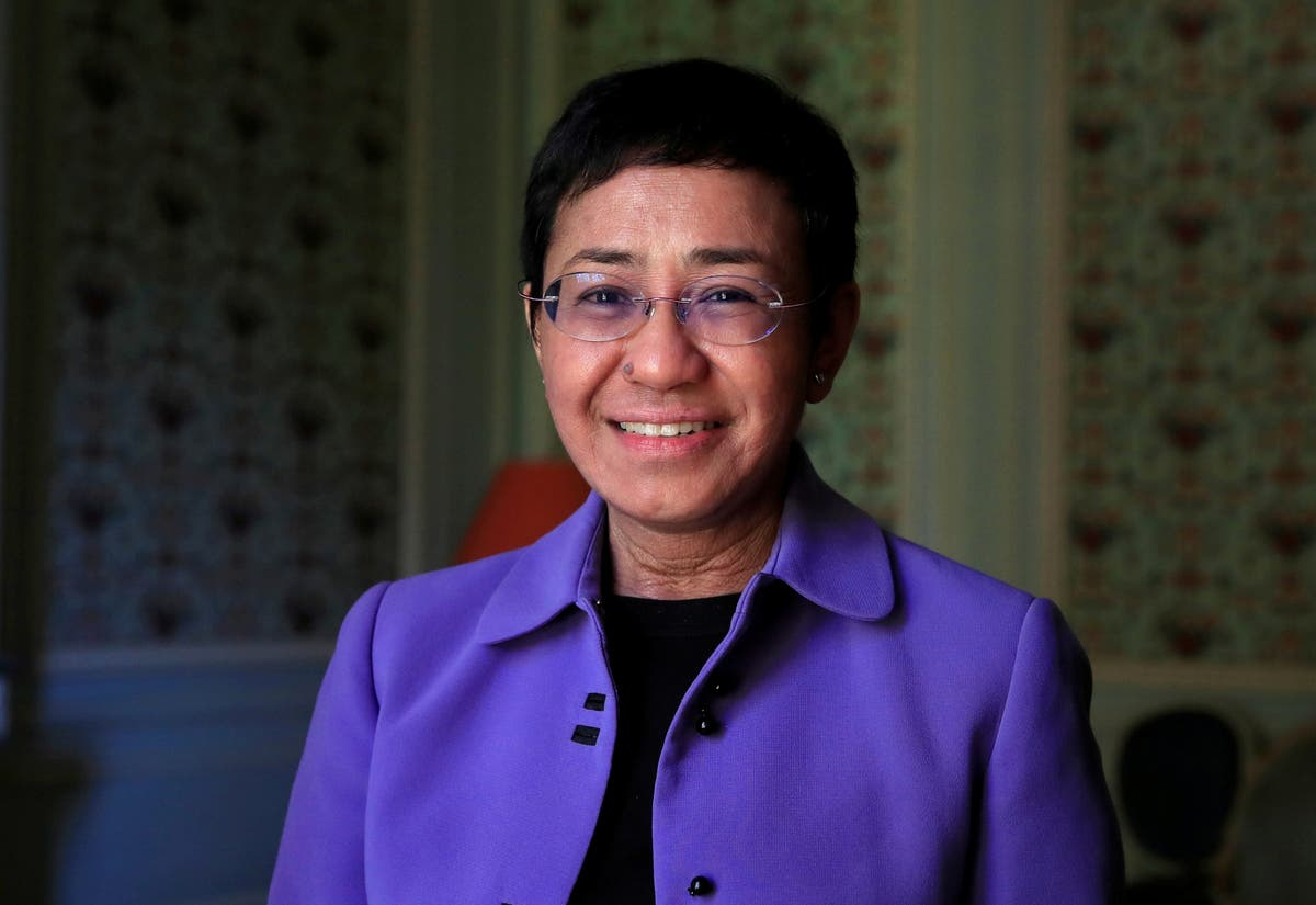 Who is Maria Ressa, winner of the Nobel Peace Prize?