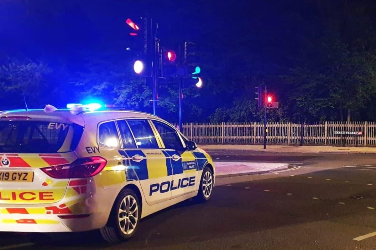 Three men injured in London shootings