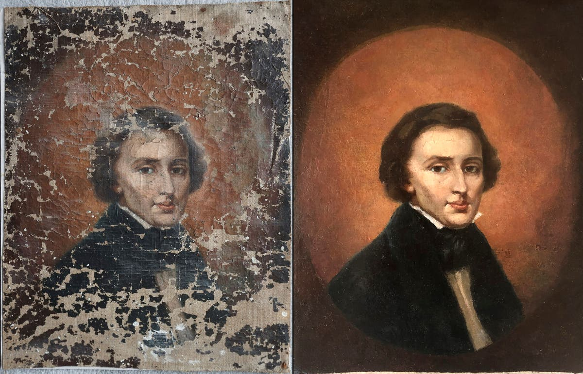 Chopin portrait bought at flea market is from 19th century
