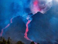 Lava flow flattens more homes on La Palma